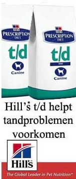 Hill's td brokken voor de hond